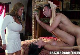 Brazzers.com/FREE – Kianna Nadia steals stepdaughter's man